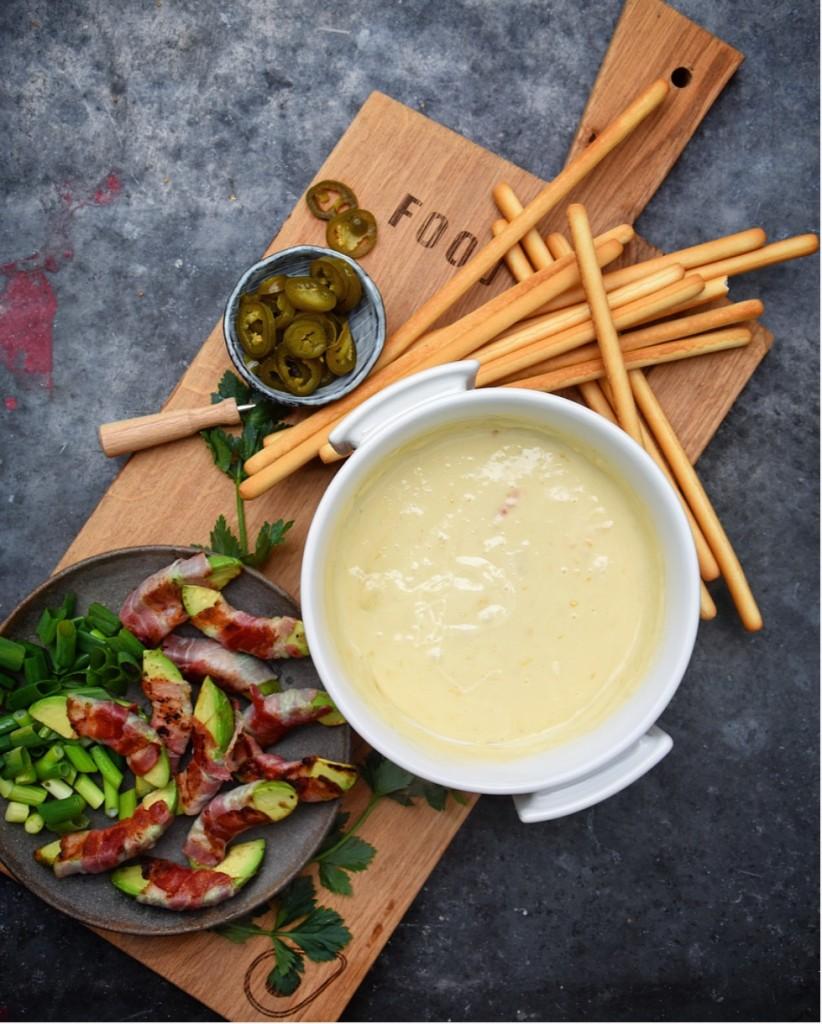 avocado-fondue